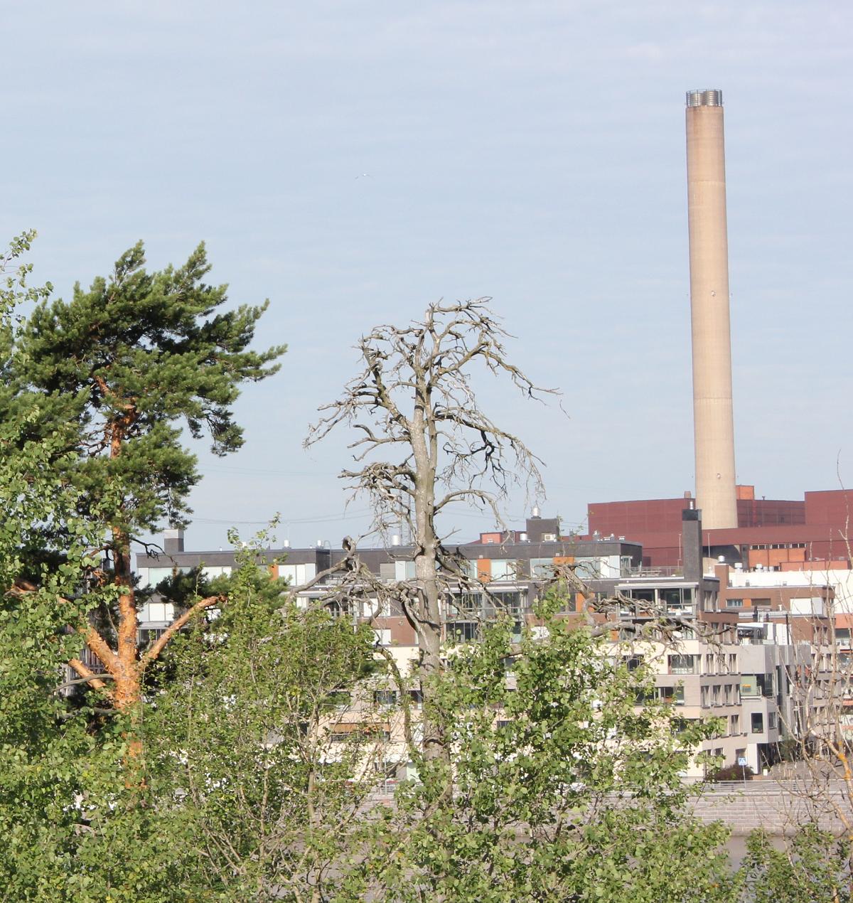 Suomen päästökauppasektorin laitosten päästöt vuonna 2018