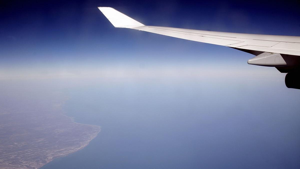 Näkymä lentokoneesta